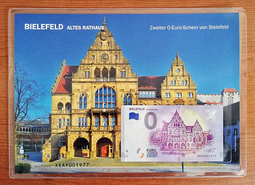 Geschenkblatt 0 Euro Bielefeld Altes Rathaus