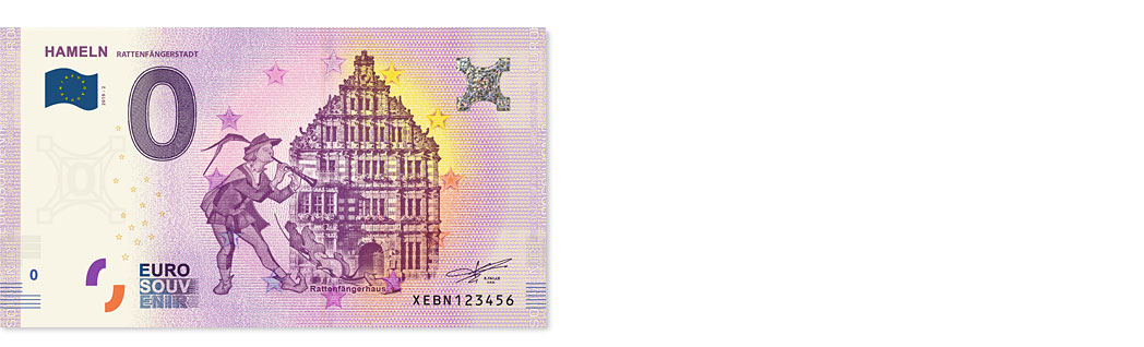 0-Euro-Schein-Hameln-Rattenfaenger